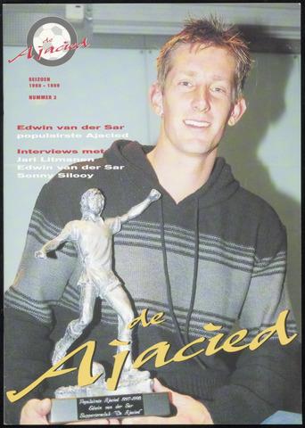 Clubblad De Ajacied (1997-2009) 1998-10-01