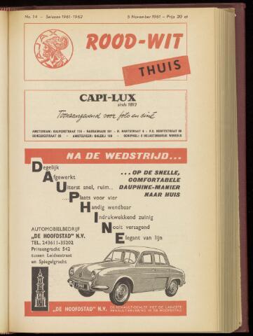 Programmaboekjes (vanaf 1934) 1961-11-05