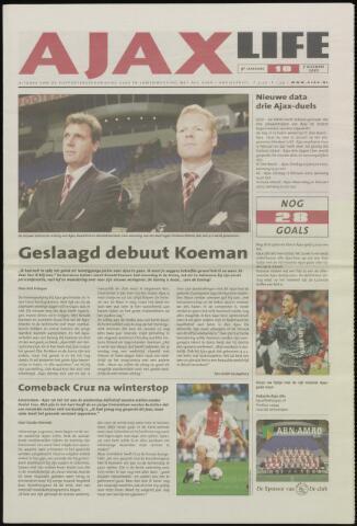 Ajax Life (vanaf 1994) 2001-12-07