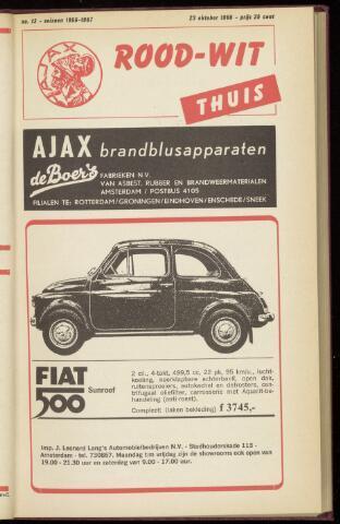 Programmaboekjes (vanaf 1934) 1966-10-23