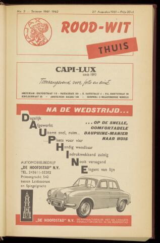 Programmaboekjes (vanaf 1934) 1961-08-27