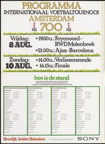 Programmaboekjes (vanaf 1934) 1975-08-08