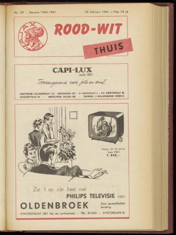 Programmaboekjes (vanaf 1934) 1961-02-26