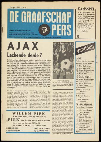 Programmaboekjes (vanaf 1934) 1975-04-20