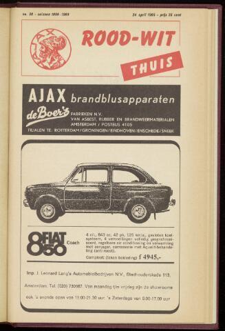 Programmaboekjes (vanaf 1934) 1966-04-24
