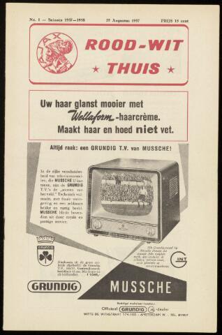 Programmaboekjes (vanaf 1934) 1957-08-25