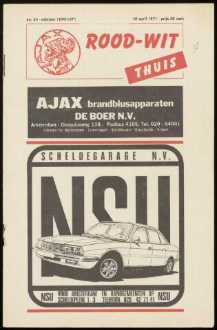 Programmaboekjes (vanaf 1934) 1971-04-10