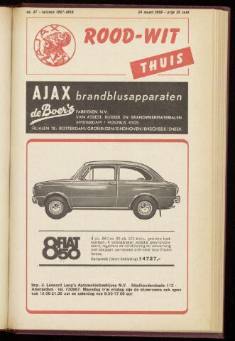 Programmaboekjes (vanaf 1934) 1968-03-24
