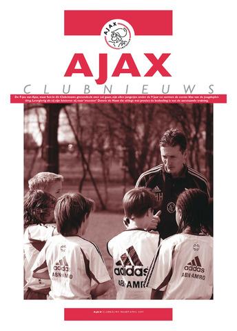 Clubnieuws Ajax (vanaf 1916) 2007-03-01