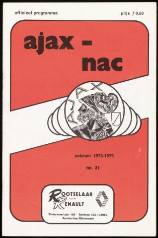 Programmaboekjes (vanaf 1934) 1979-03-11
