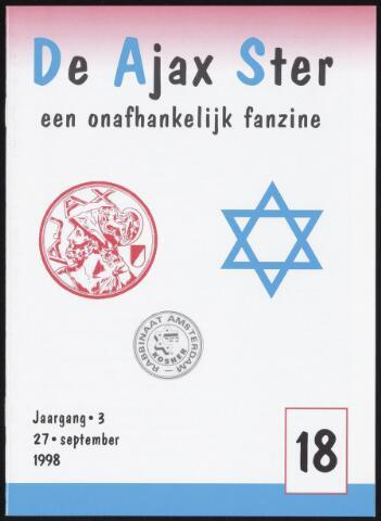 Fanzine De Ajax Ster (1996-2001) 1998-09-27