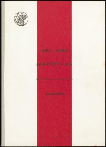 Jaarverslagen Vereniging (vanaf 1964) 1971-06-30