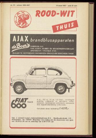 Programmaboekjes (vanaf 1934) 1967-03-19
