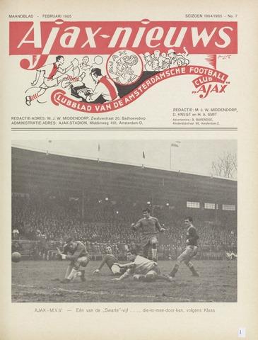 Clubnieuws Ajax (vanaf 1916) 1965-02-01