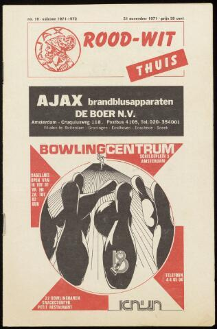 Programmaboekjes (vanaf 1934) 1971-11-21