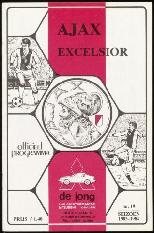 Programmaboekjes (vanaf 1934) 1984-04-29