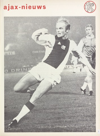 Clubnieuws Ajax (vanaf 1916) 1975-11-01