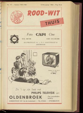 Programmaboekjes (vanaf 1934) 1960-11-13