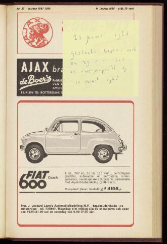 Programmaboekjes (vanaf 1934) 1968-01-14
