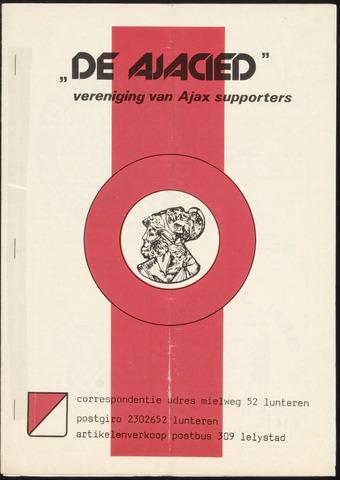 Clubblad De Ajacied (1997-2009) 1979-06-01