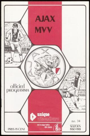 Programmaboekjes (vanaf 1934) 1981-05-10