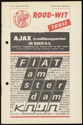Programmaboekjes (vanaf 1934) 1970-10-21