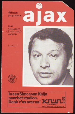 Programmaboekjes (vanaf 1934) 1977-02-06