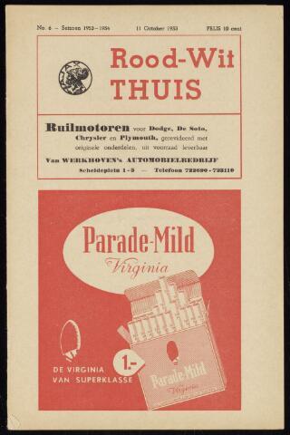 Programmaboekjes (vanaf 1934) 1953-10-11