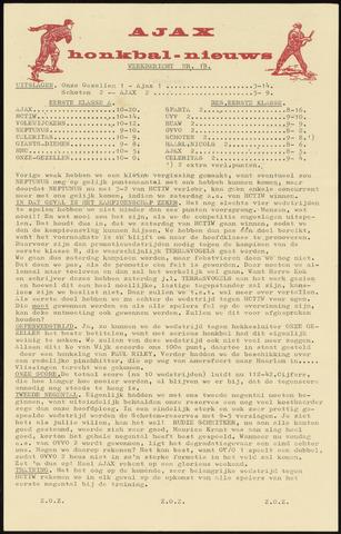 Honkbal nieuws (1963-1972) 1969-07-07