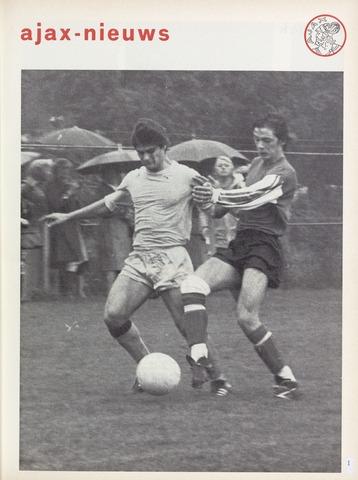 Clubnieuws Ajax (vanaf 1916) 1976-10-01