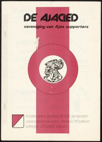Clubblad De Ajacied (1997-2009) 1978-07-05