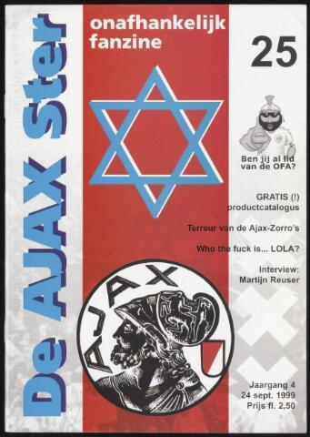 Fanzine De Ajax Ster (1996-2001) 1999-09-24