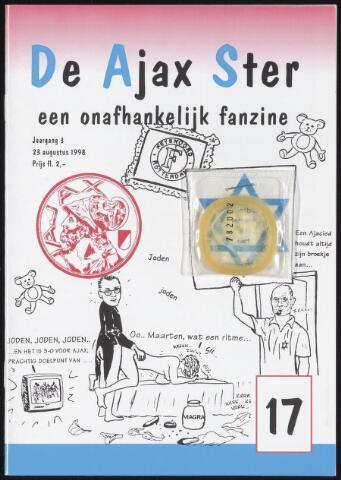 Fanzine De Ajax Ster (1996-2001) 1998-08-23