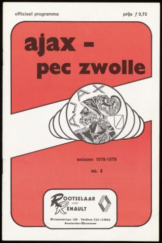 Programmaboekjes (vanaf 1934) 1978-09-03