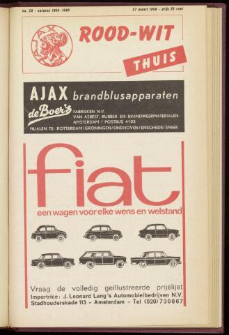 Programmaboekjes (vanaf 1934) 1966-03-27