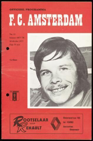 Programmaboekjes (vanaf 1934) 1977-10-16