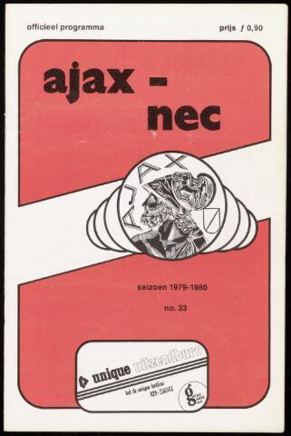 Programmaboekjes (vanaf 1934) 1980-04-05