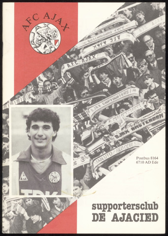 Clubblad De Ajacied (1997-2009) 1985