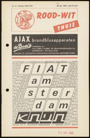 Programmaboekjes (vanaf 1934) 1969-10-26