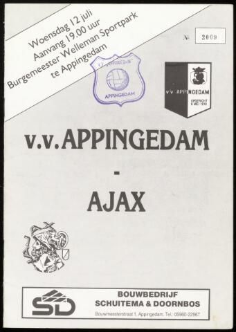 Programmaboekjes (vanaf 1934) 1989-07-12