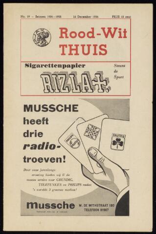 Programmaboekjes (vanaf 1934) 1954-12-26