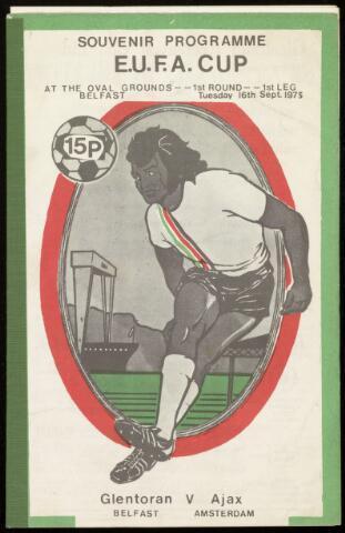 Programmaboekjes (vanaf 1934) 1975-09-16