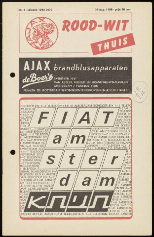 Programmaboekjes (vanaf 1934) 1969-08-31