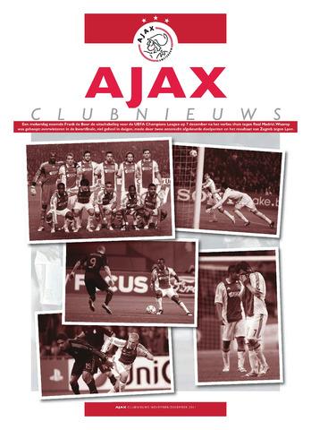 Clubnieuws Ajax (vanaf 1916) 2011-11-01
