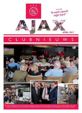 Clubnieuws Ajax (vanaf 1916) 2017-04-01