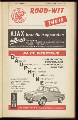 Programmaboekjes (vanaf 1934) 1964-09-06