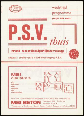 Programmaboekjes (vanaf 1934) 1974-03-23
