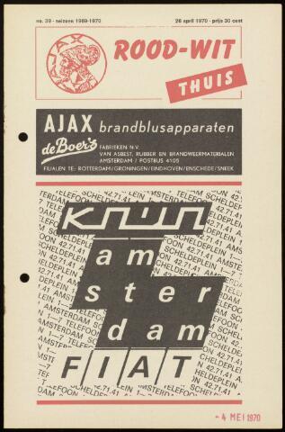 Programmaboekjes (vanaf 1934) 1970-04-26
