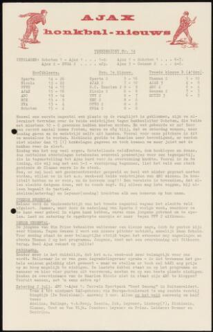 Honkbal nieuws (1963-1972) 1966-06-27