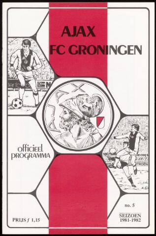 Programmaboekjes (vanaf 1934) 1981-09-26